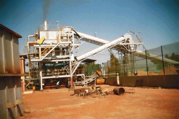 Desmontagem Reforma E Montagem Eletromecanica Caldeira Biomassa