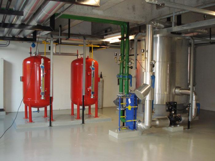 Montagem Eletromecanica Sistema De Agua Quente